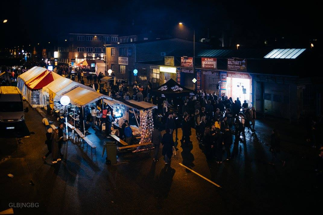 stalls on NGBG at night